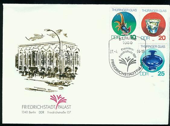 Brief DDR SoSt. Friedrichstadtpalast / 27.04.1984 K1-3144