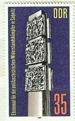 DDR Mi 2639 postfr.  K1-2821                      DDR Mi 2579 postfr. K1-2826