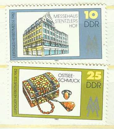 DDR Mi 2733 - 2734 Zdr postfr. K1-2815                          DDR Mi 2579 postfr. K1-2826
