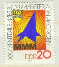 DDR Mi 2750 postfr.  K1-3024