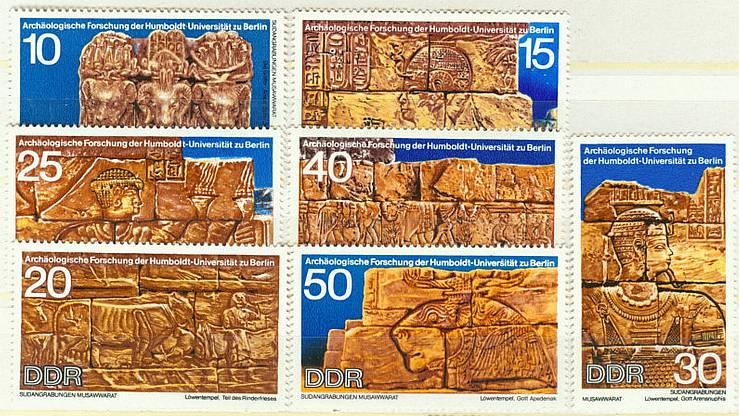 DDR Mi 1584 - 1590 postfr. K1-2222