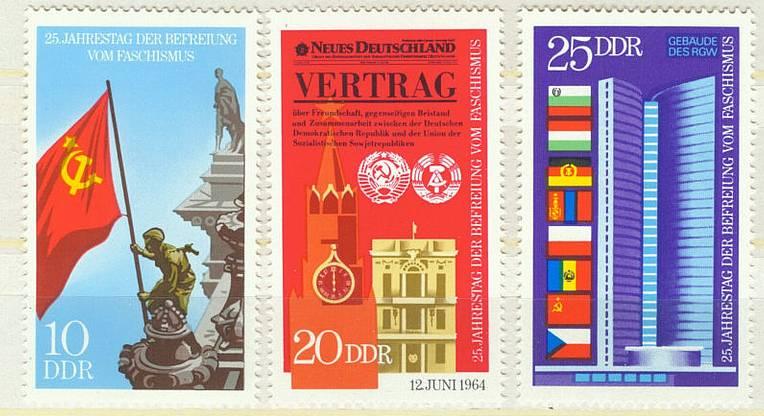 DDR Mi 1569 - 1571 postfr.  K1-2284