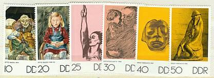 DDR Mi 1607 - 1612 postfr.  K1-2271