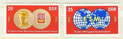 DDR Mi 1577 - 1578 postfr.  K1-2624