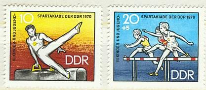 DDR Mi 1594 - 1595 postfr.  K1-2745