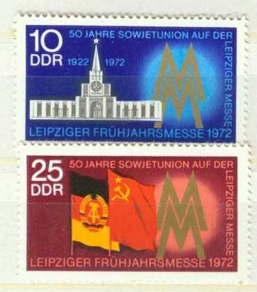 DDR Mi 1743 - 1744 postfrisch K1-2898                                                        0