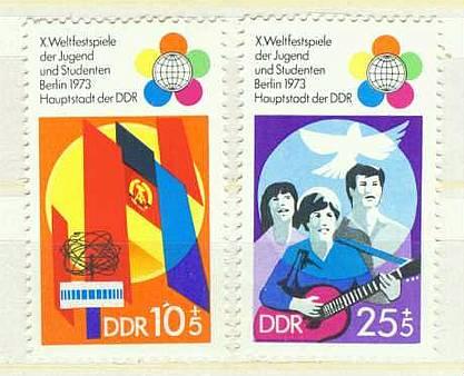 DDR Mi 1829 - 1830 postfrisch K1-2887  0