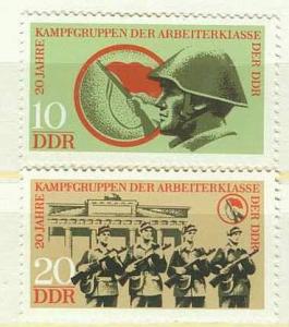 DDR Mi 1874 - 1875 postfrisch K1-2892