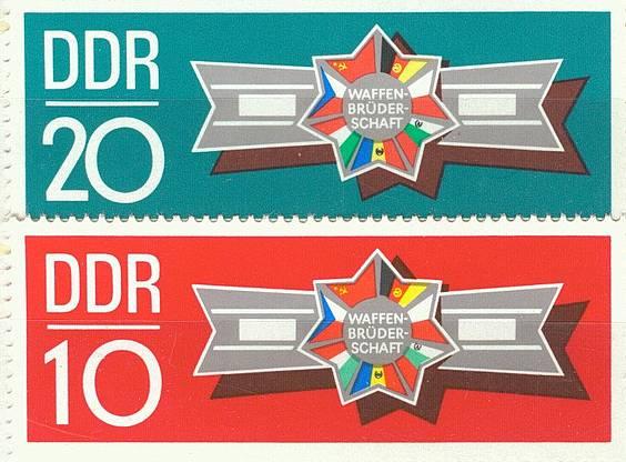 DDR Mi 1615 - 1616 postfr.  K1-2835