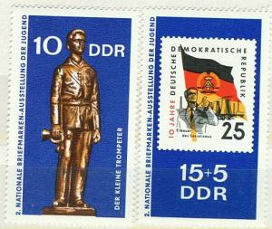 DDR Mi 1613 - 1614 postfr.  K1-2833