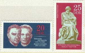 DDR Mi 1603 - 1604 postfr.  K1-2831