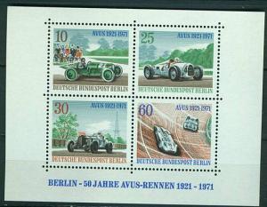 Berlin Block 3 postfr. Avus K1-1338