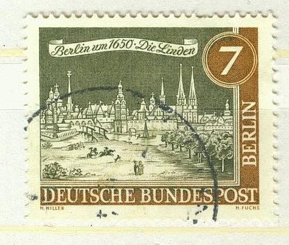 Berlin Mi 218 gest K1-1703