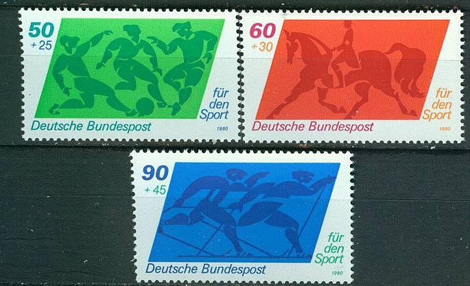 BRD Mi 1046 - 1048 postfr. K1- 3539