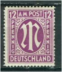 Bizone Mi 15 postfr.  K1-4711