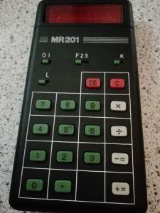 elektronischer Taschenrechner von RFT