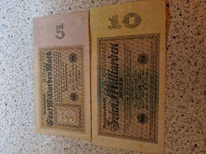 5 und 10 Milliarden Reichsmark