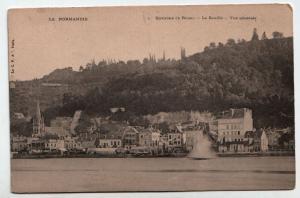 La Normandie - Environs de Rouen - La Bouille - Vue generale