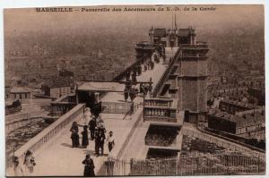 Marseille - Passerelle des Ascenseurs de N. - D. de la Garde