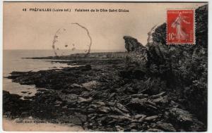 Préfailles Falaises de la Côte Saint Gildas