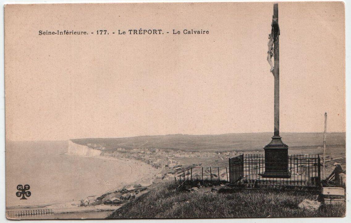 Seine - Inferieure - Le Treport - Le Calvaire 0