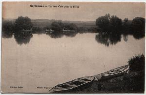 Serbonnes - Un beau coin pour la pêche