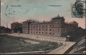 Mülhausen Wilhelmskaserne (jahr 1908)