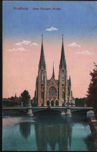 Straßburg Neue Evangelische Kirche