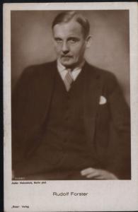 Rudolf Forster