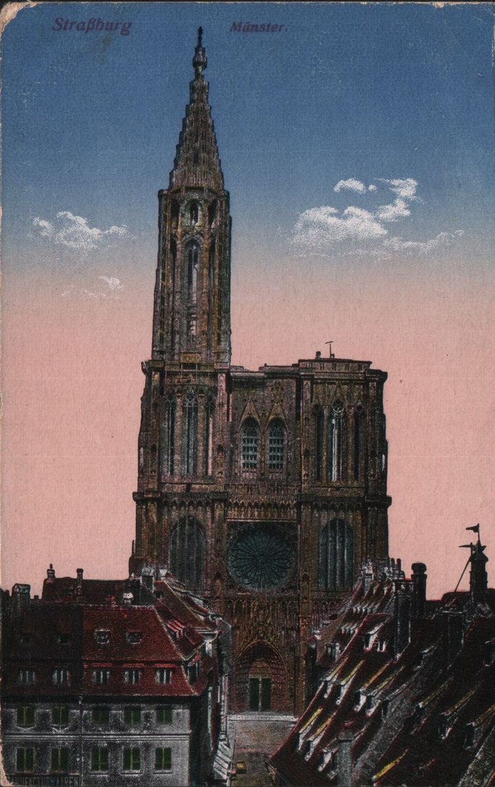 Straßburg Münster 0