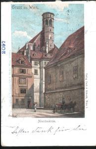 Gruss aus Wien. Minoritenkirche