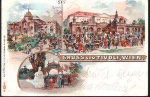 Gruss vom Tivoli , Wien . / Jahr: 1898 – 1900