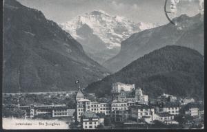 Schweiz - Interlaken - Die Jungfrau - jahr 1911