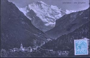 Schweiz - Interlaken - Die Jungfrau - jahr 1935