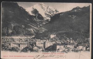 Suisse - Interlaken und die Jungfrau - anne 1901