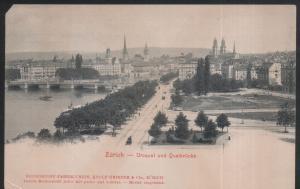 Suisse - Zürich - Utoqual und Quaibrücke