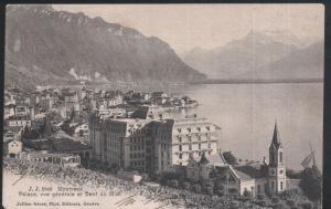 SWITZERLAND - Montreux - Palace, vue generale et Denf du Midi – 1906