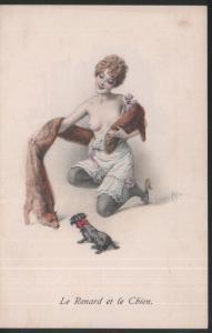 VITNAGE WOMEN / erotique / Le Renard et le Chien.
