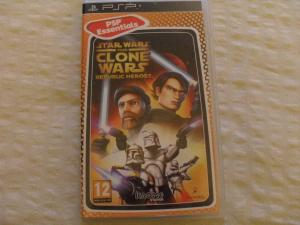 Star Wars the Clone Wars Republic Heroes / Sony PSP