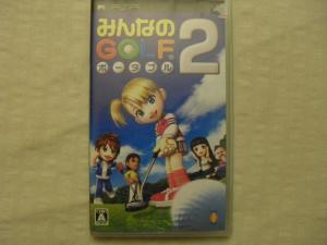 Minna no Golf 2 / Sony PSP / Japan