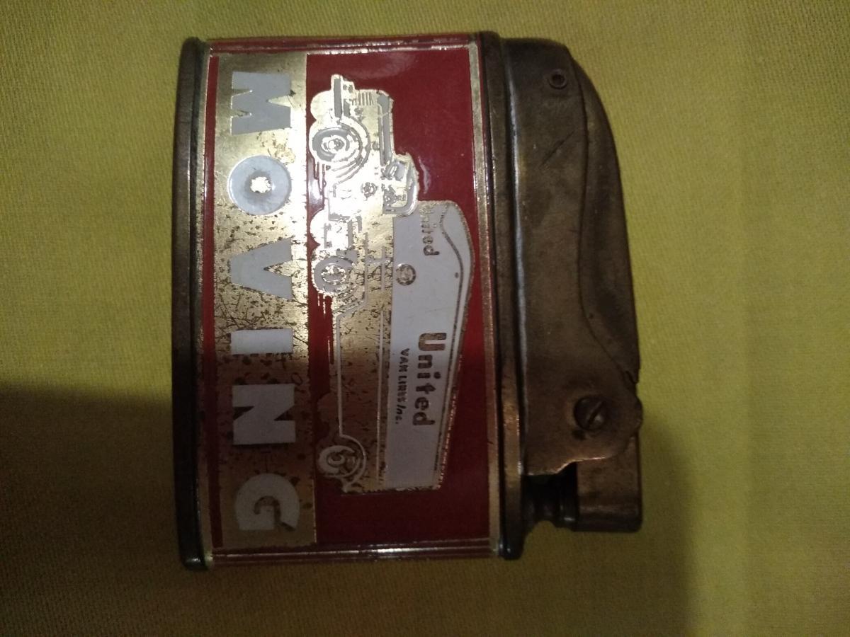 Altes Werbe-Benzinfeuerzeug