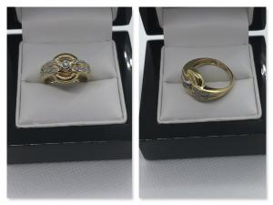 Traumhafter Diamantring in 585 Gold- ca. 0,25 ct