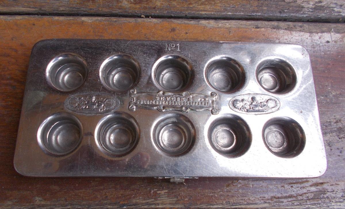 Pharmazie - CEVCIK\\\'s Oblatenverschlussapparat N° 1 - um 1900