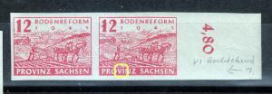 Provinz Sachsen Mi 86 Plattenpfehler