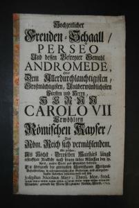 Mayr – Rückkehr Karl VII. nach München 1743