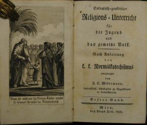Widermann – Religions-Unterricht für die Jugend – Wien 1793