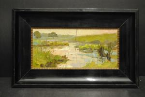 Heinz Theis - Moor- oder Sumpflandschaft - 1921