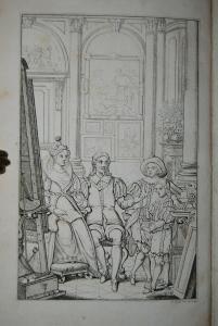 Kind - Van Dyck's Landleben - Leipzig 1817 - Mit 6 Kupfern