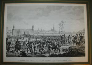 Einzug Napoleons in Wien am 14. November 1805 – Kst. Von Pigeot n. Le Comte