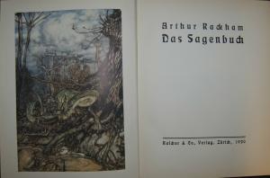Rackham – Das Sagenbuch – Zürich 1920 – Numeriertes Exemplar